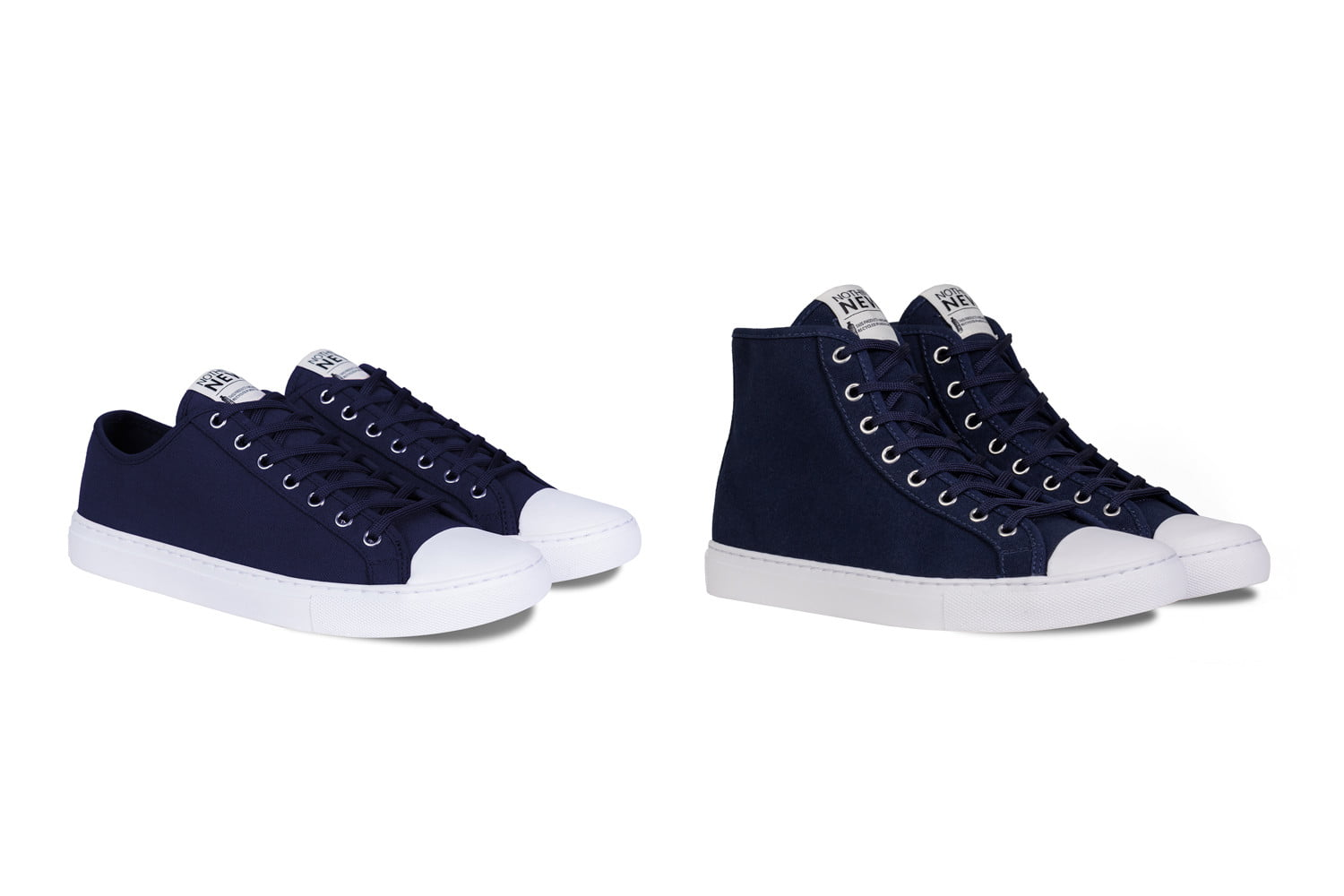 nothing new sustainable sneakers shoes navy lowhigh top