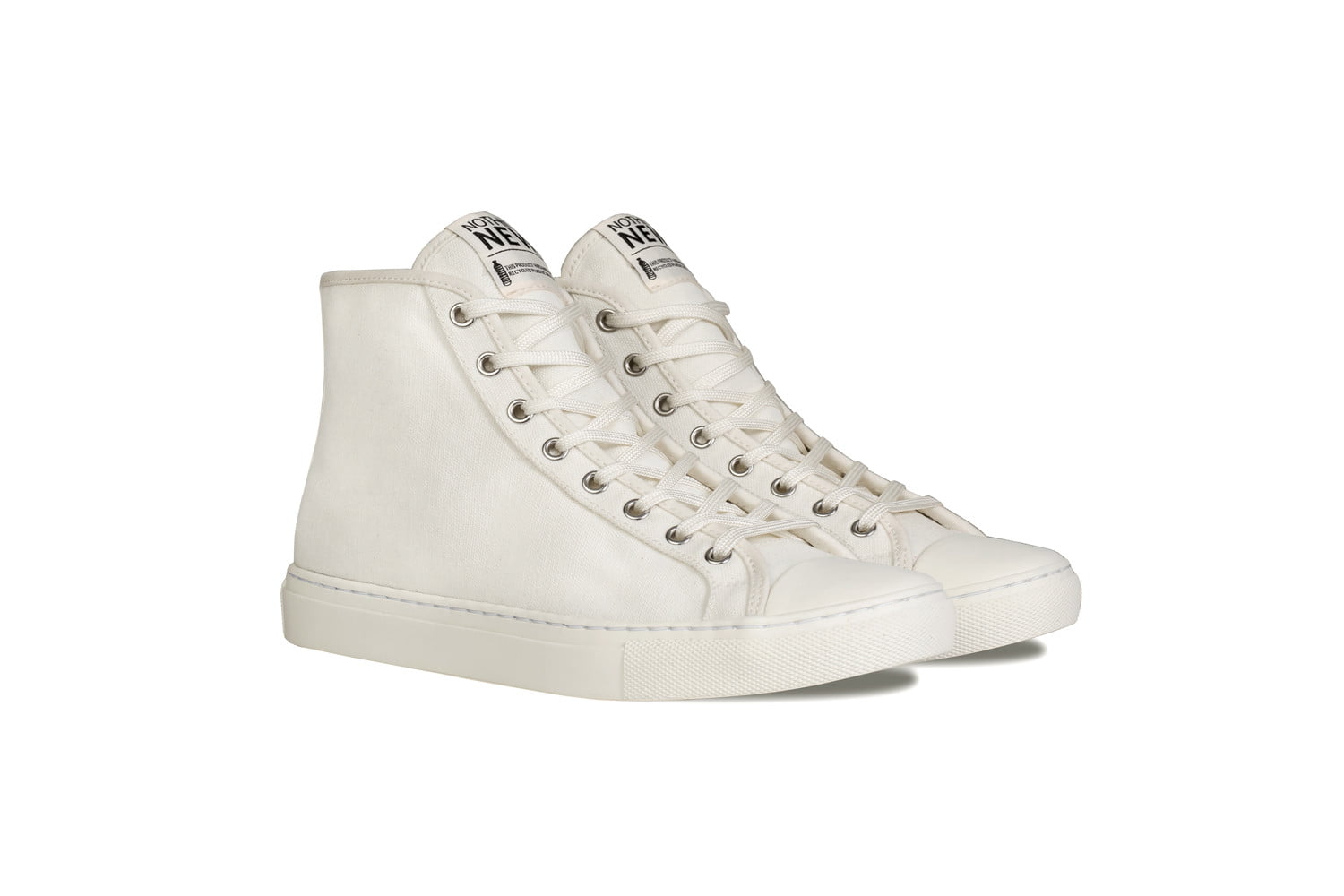 nothing new sustainable sneakers shoes offwhite high top
