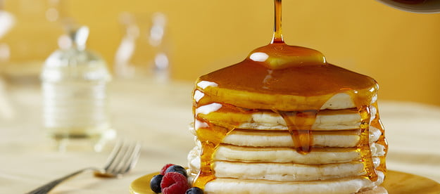 best pancake mix brands pancakes with syrup pour