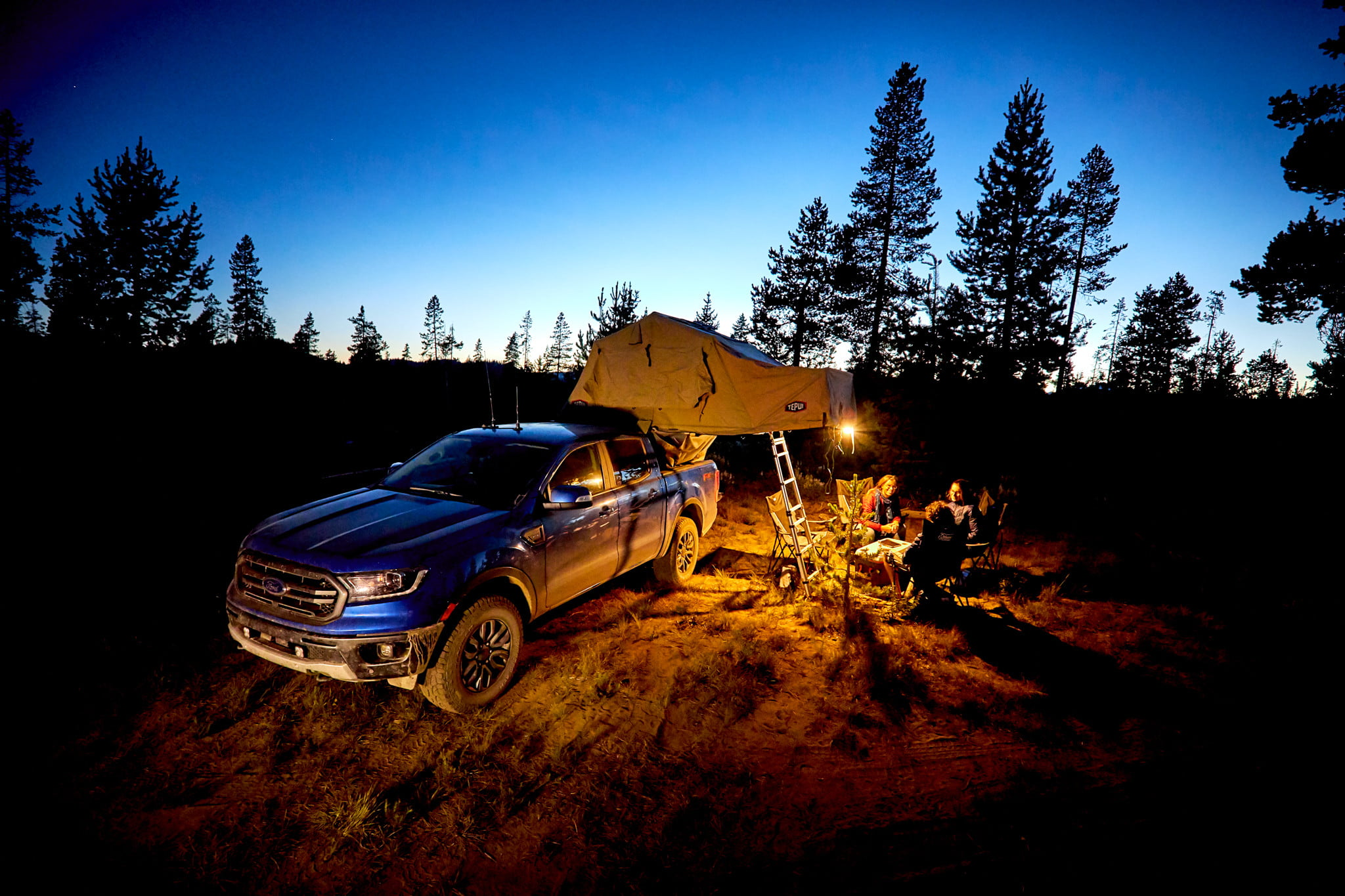 overlanding camping for free