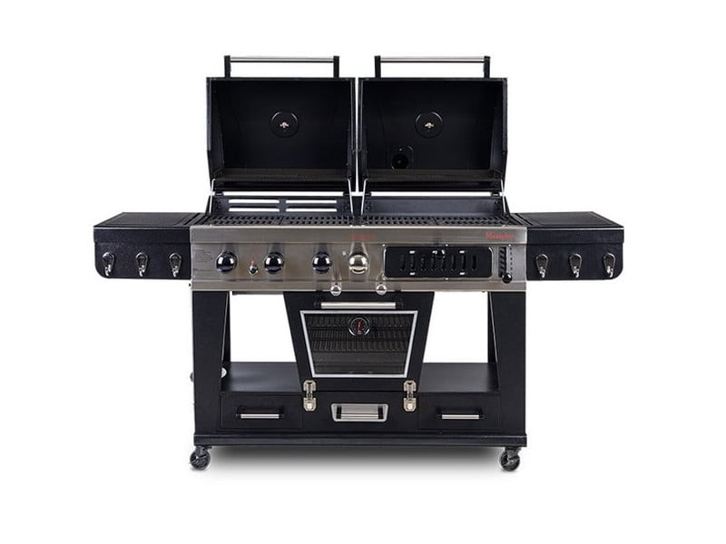 Pit Boss Memphis Ultimate Combo Grill on white background.