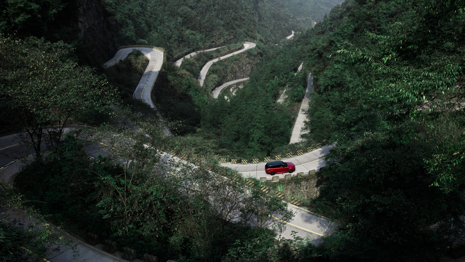 range rover sport heavens gate off road test in china 13