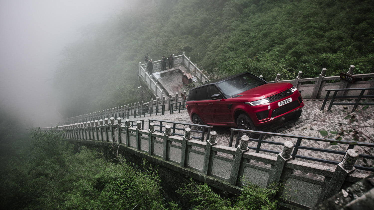 range rover sport heavens gate off road test in china 2