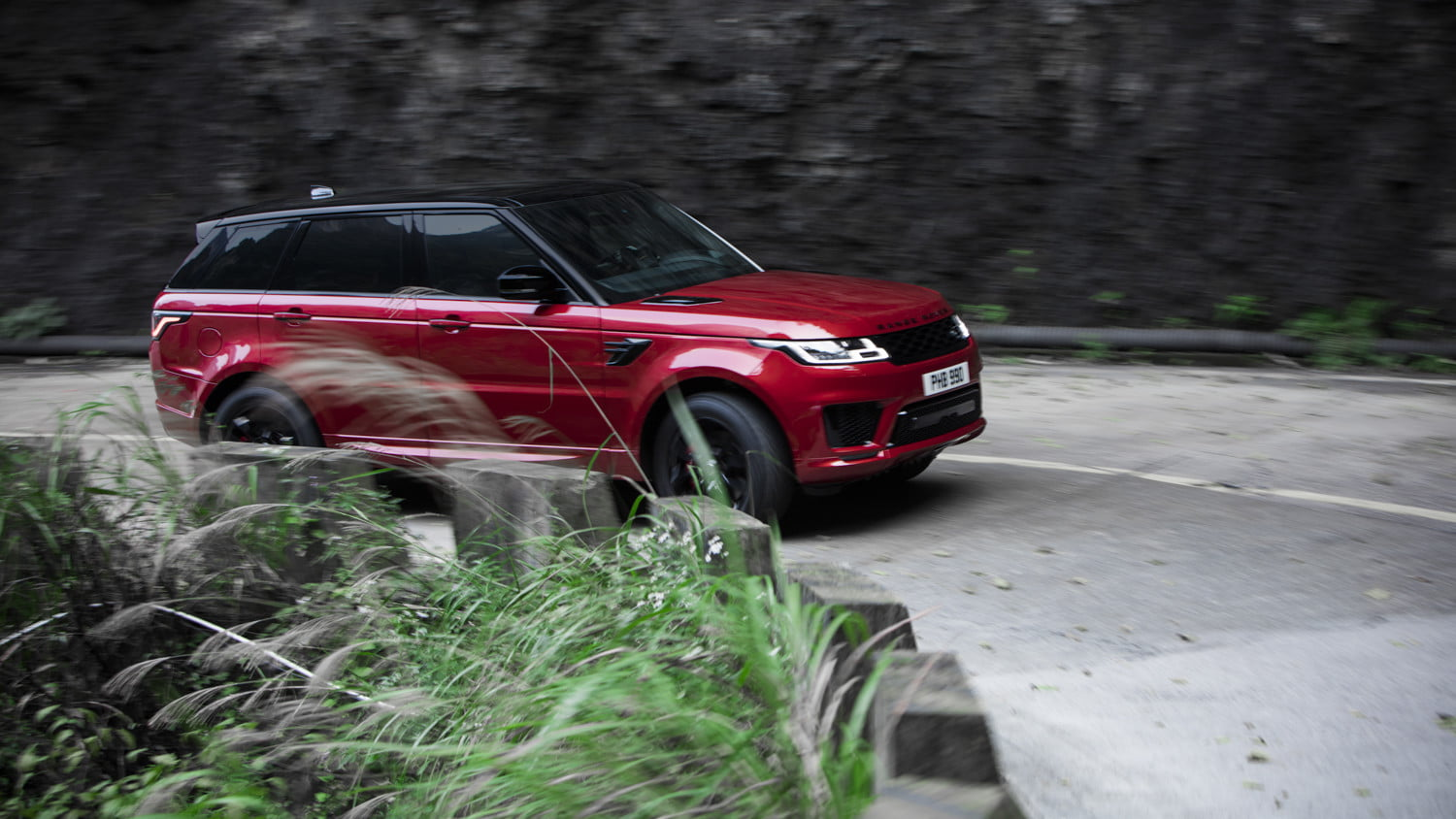 range rover sport heavens gate off road test in china 8