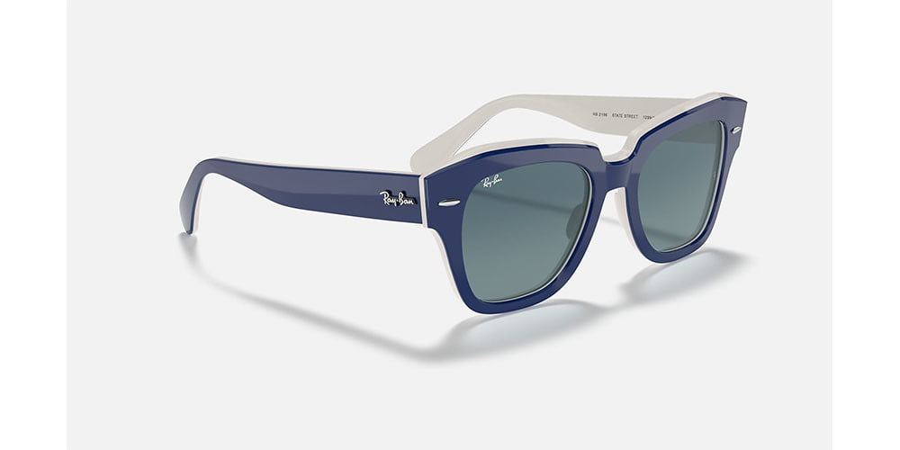 Ray-Ban State Street Sunglasses on white background.