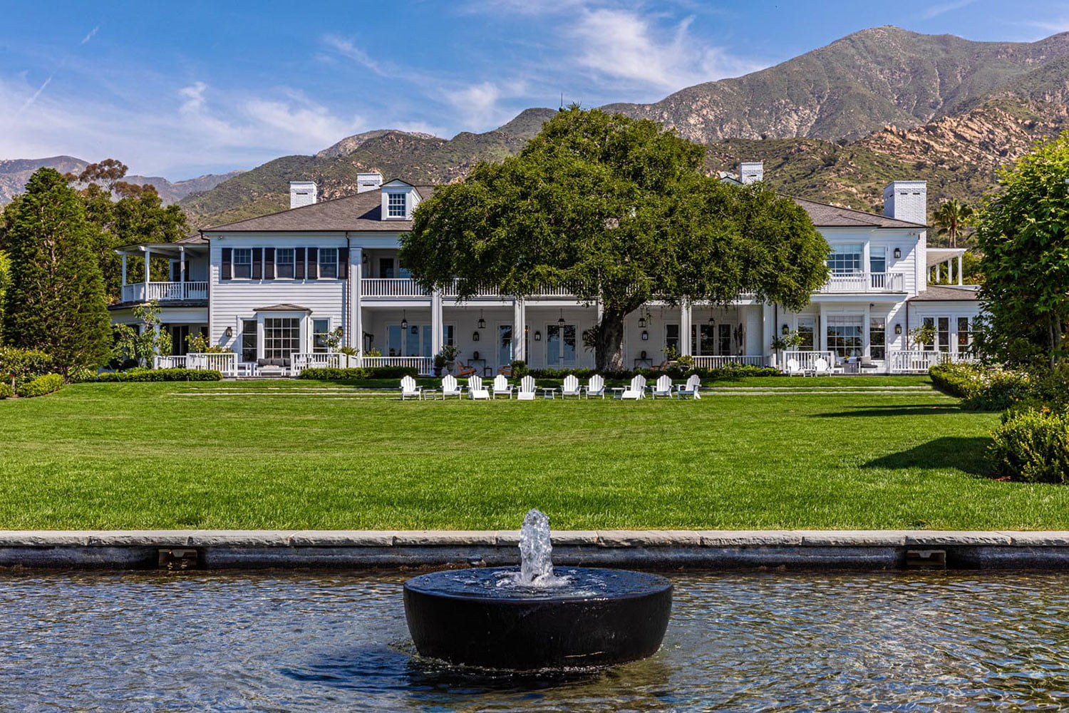 rob lowe house for sale oakview montecito california  s 2