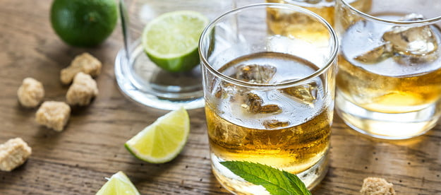 rum for mixed drinks like mojitos
