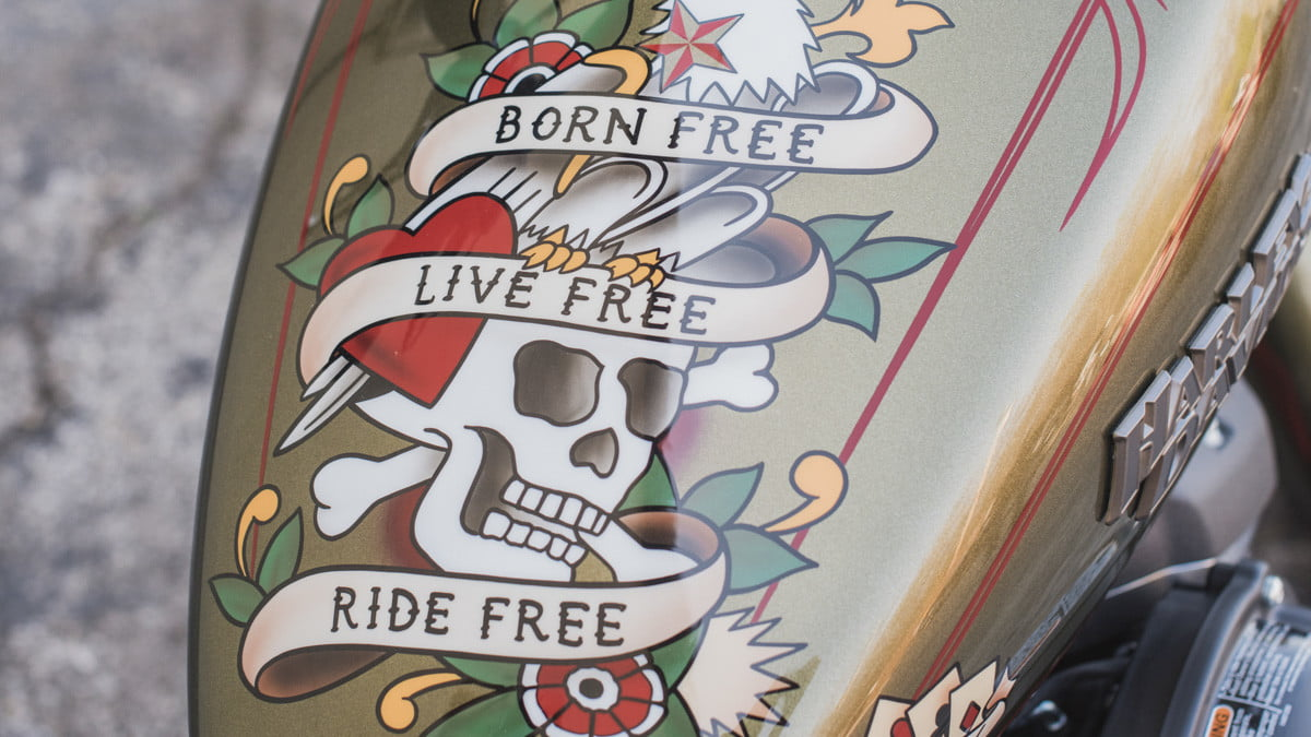 sailor jerry harley davidson my work speaks for itself and designs closeup 4
