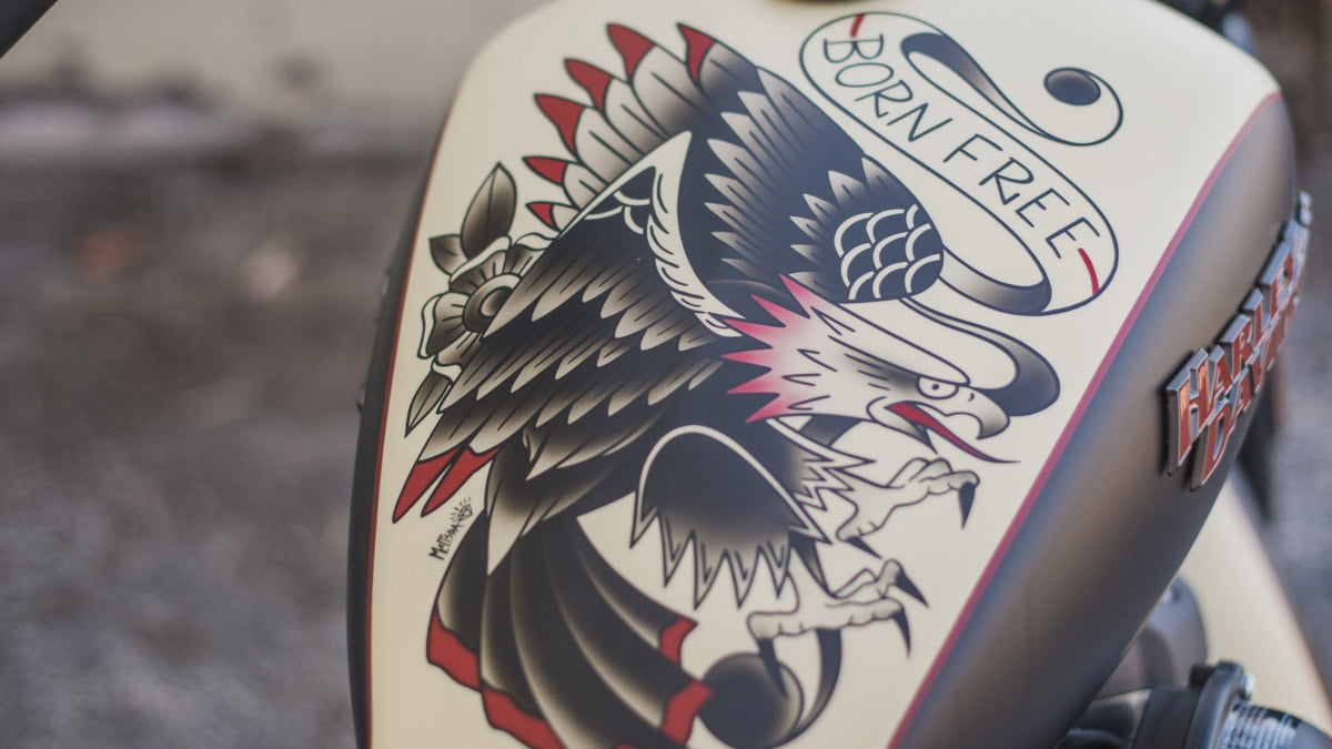 sailor jerry harley davidson my work speaks for itself and designs closeup 6