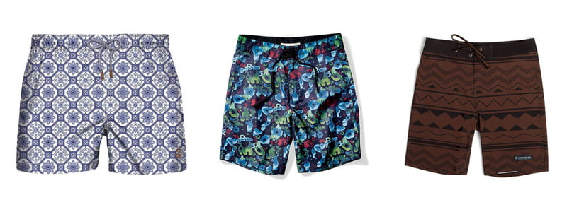 a guide to printed swimwear shorts