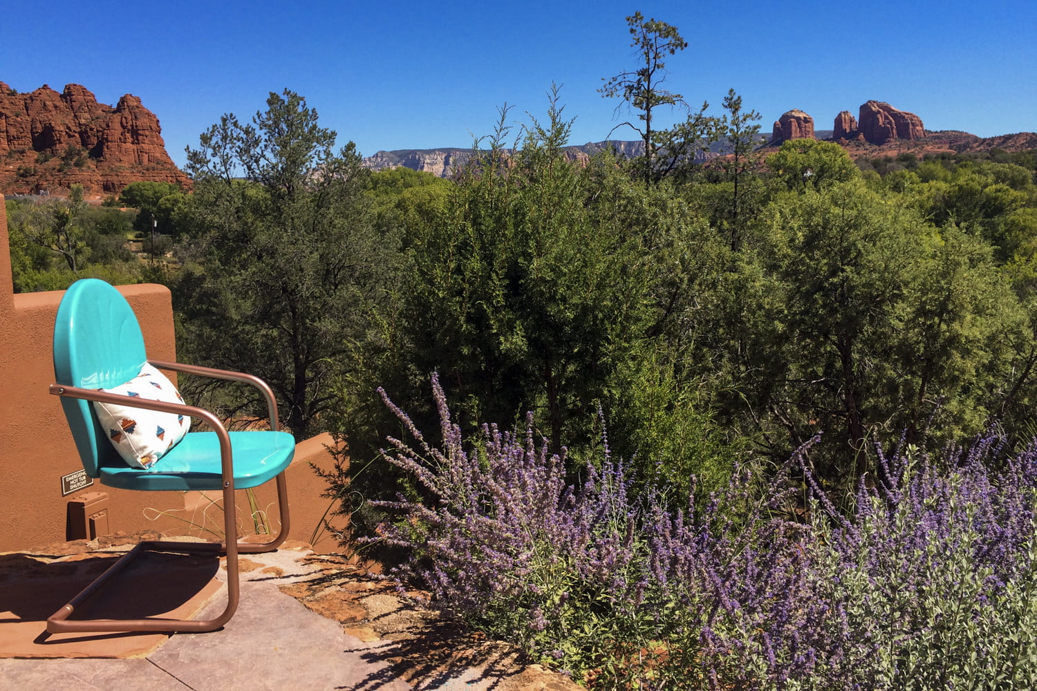 this luxury sedona vacation rental is like a personal resort for two sun cliff 7