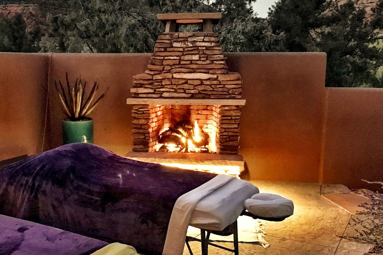 this luxury sedona vacation rental is like a personal resort for two sun cliff 8