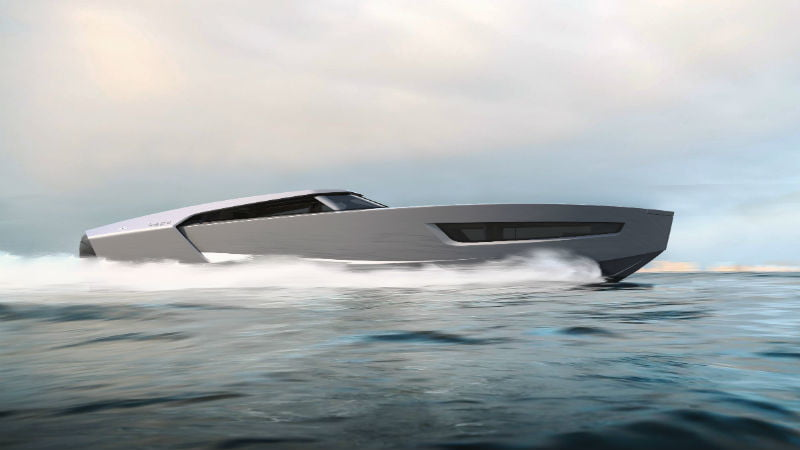 Superfly GT 42 boat profile