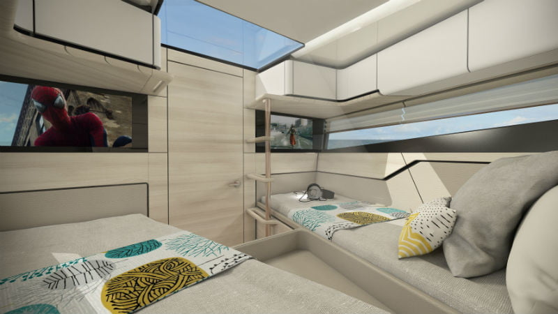 Superfly GT 42 cabin