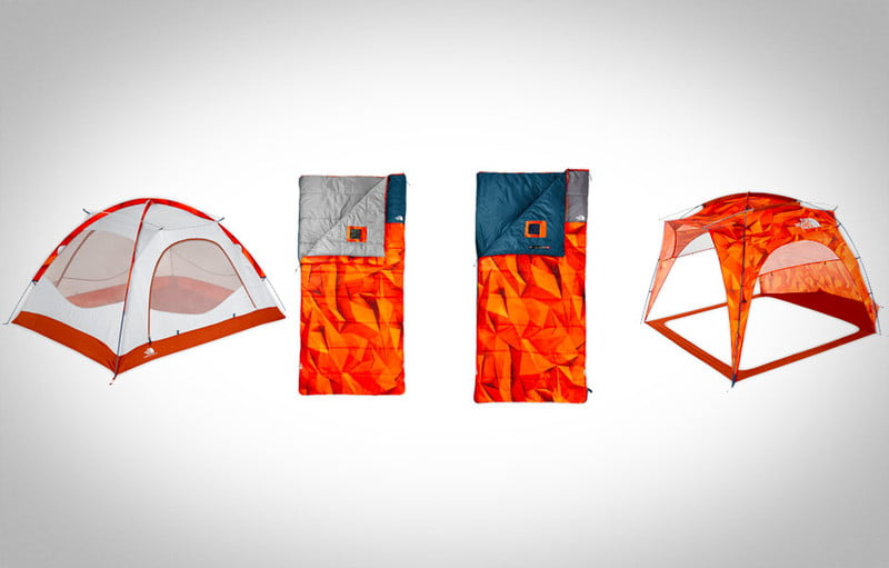 not your typical camping gear the north face homestead collection ten