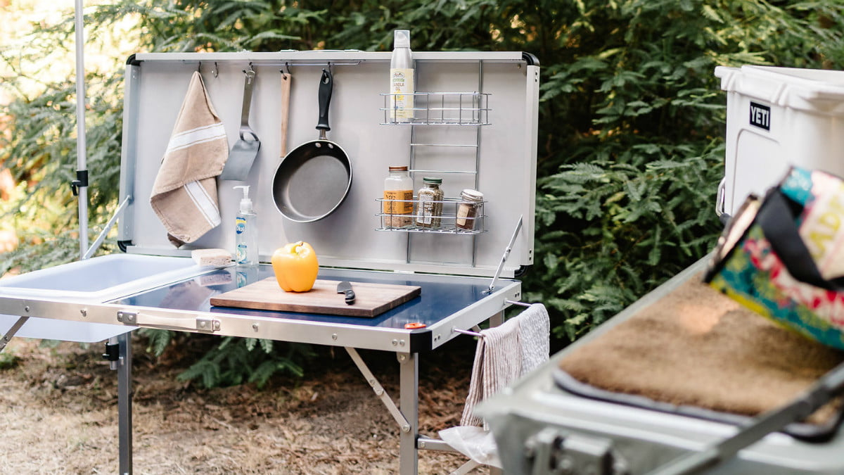 tepui rooftop tents overview gear camp kitchen 2