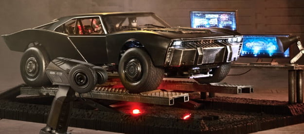 The Batman's The Ultimate Batmobile from Mattel Creations.