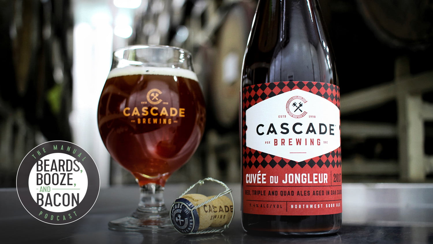 beards booze bacon sour beer cascade brewing the manual podcast beers episode