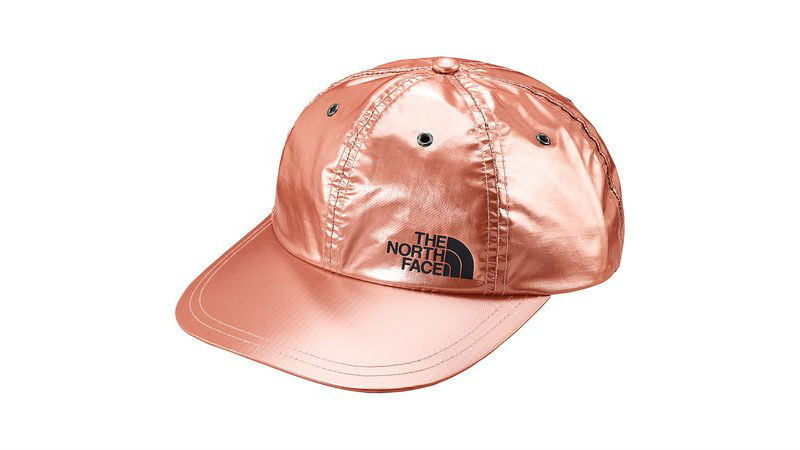 the north face supreme panel hat rose gold
