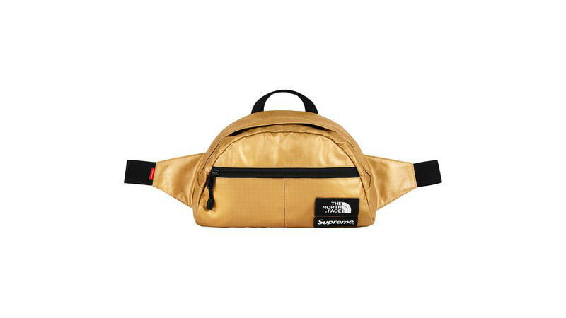 the north face supreme roo ii lumbar pack gold