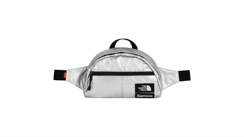 the north face supreme roo ii lumbar pack silver