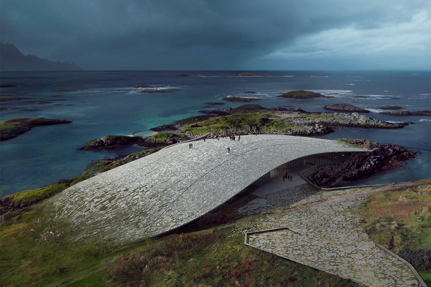 norway announces stunning new whale watching museum inside the arctic circle 1