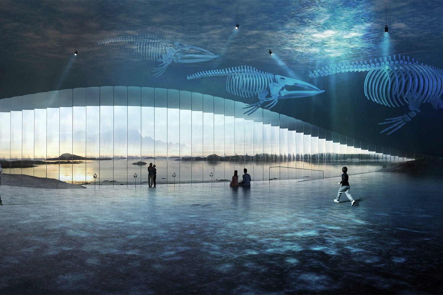 norway announces stunning new whale watching museum inside the arctic circle 3