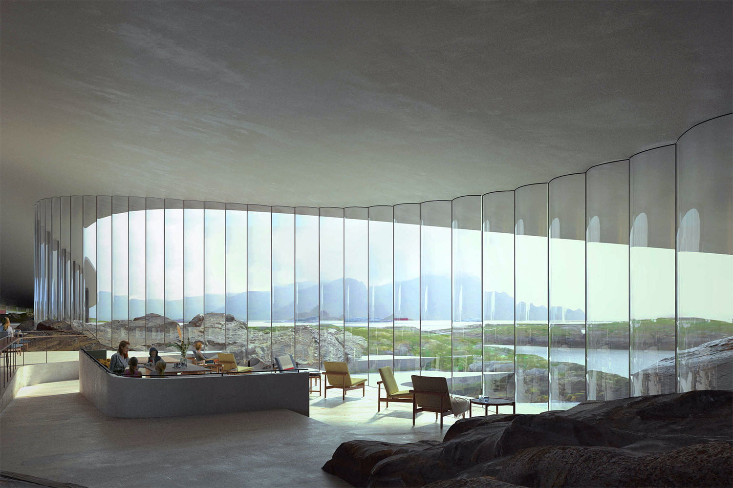 norway announces stunning new whale watching museum inside the arctic circle 4