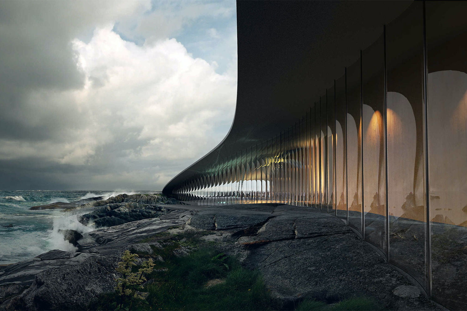 norway announces stunning new whale watching museum inside the arctic circle 5