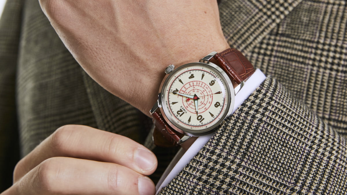timex x todd snyder beekman watch profile images specs 5