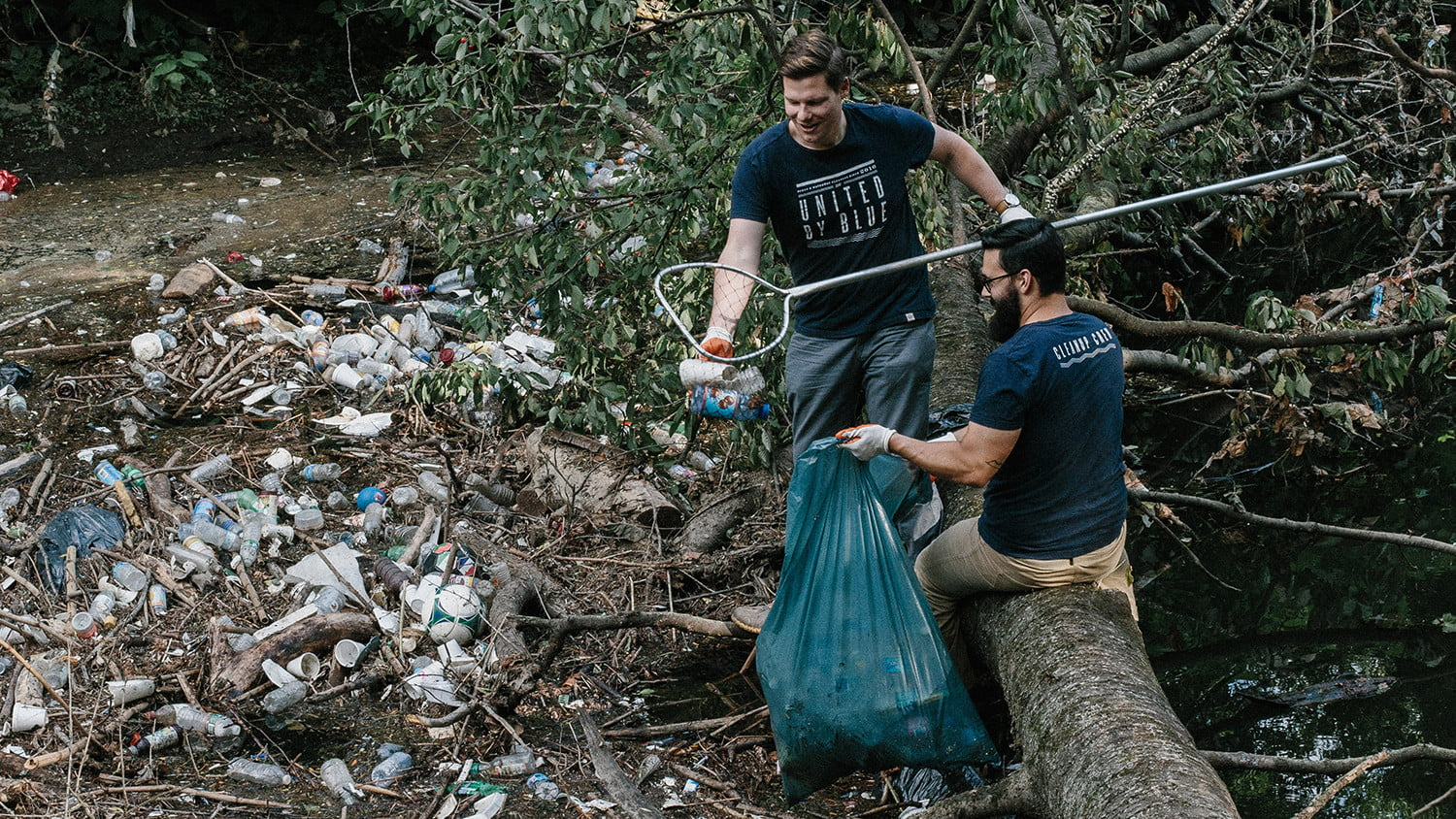United By Blue billion's cleanups